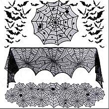ANSET Lot de 4 décorations d'Halloween -