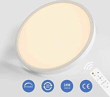 ANTEN 24W Télécommande Plafonnier LED IP40 pour