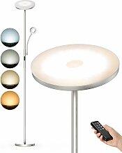 Anten Lampadaire Sur Pied Salon 30W Lampe LED à
