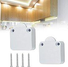 ANTHYTA 2 Pcs interrupteurs de porte de placard