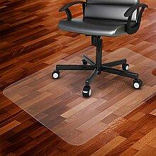 Antidérapant PVC Tapis Chaise De Bureau,
