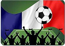 Antidérapant Tapis de Bain,s Fanion de Football
