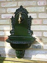 Antikas Fontaine de jardin murale en aluminium de