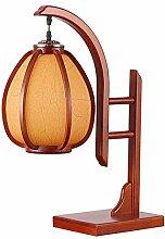 Antique Chinese Table Lampe Bureau Chambre Chevet,