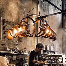 Antique Lampes Suspendues Industriel Steampunk