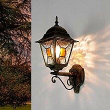 Antique XXL Lampe d'Extérieur Lampadaire