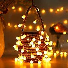 AOOKEY LED Guirlande Lumineuse 10M 80 Ampoules LED