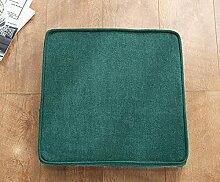 AORUI Galette de chaise avec passepoil - Lavable -