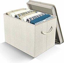 APLKER Boîtes de Rangement, Pliable en Tissu de