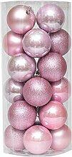 Apofly Boules de Noël, 24pcs Boules de Noël