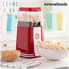 Appareil à pop-corn 1200w rouge - cuisson pop