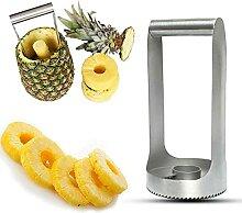 Appareil de découpe et de traction d'ananas
