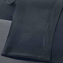 Appletree Drap Plat uni 200 Fils 100% Coton, Bleu
