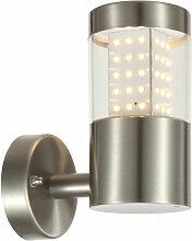 Applique à LED en acier inoxydable façades spots