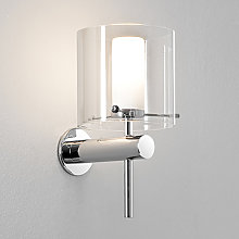 Applique Arezzo chrome poli 1 lampe