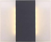 Applique d'extérieur LED ALU façade