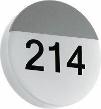 Applique d'extérieur LED numéro de maison
