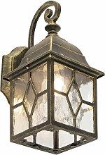 Applique d'extérieur romantique bronze -
