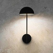 Applique design noire LED