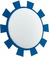 Applique éclairage plafonnier bleu luminaire