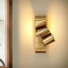 Applique Extérieur LED Lampe murale Golden
