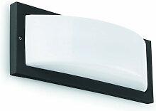 Applique extérieur rectangle grise Faro