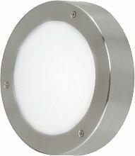 Applique LED luminaire mural lampe DEL acier