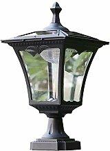 Applique Lumière de pilier solaire européen