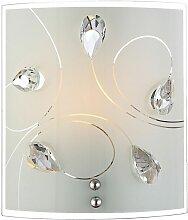 Applique luminaire mural design cristaux élégant