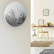 Applique luminaire plafonnier ou mural ronde en