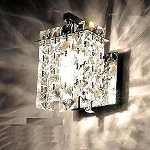 Applique murale à LED appliques en cristal