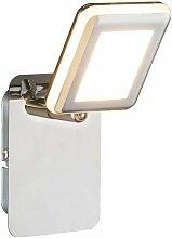 Applique murale à LED Chrome Spot Luminaire Salon