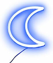 Applique murale bleu avec télécommande LED