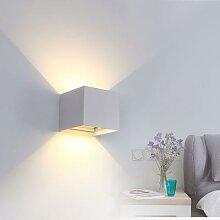 Applique murale en aluminium mur LED, éclairage