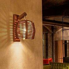 Applique murale en bambou au design créatif