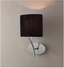 Applique murale Eve avec interrupteur 1 Ampoule