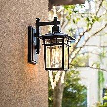 Applique murale extérieure antique E27 Lampe de