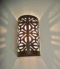 Applique murale fer forgé Marocaine lampe