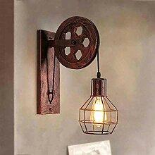 Applique Murale Industrielle, iDEGU Éclairage