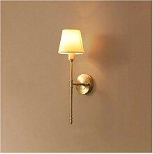 Applique Murale Intérieure Lampe murale de cuivre