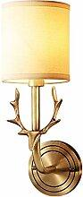 Applique Murale Intérieure Tête de cerf Lampe