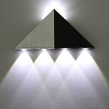 Applique Murale LED 5W Interieur Triangle Lampe
