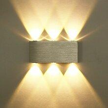 Applique Murale LED 6W Lampe Murale Avec 6 LEDs