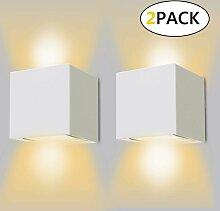 Applique Murale LED Exterieur 12W Lampe Murale