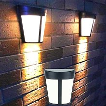 Applique murale LED solaire à induction