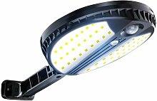 Applique murale LED solaire, induction du corps