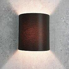 Applique murale loft / style moderne / marron /