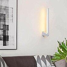 Applique murale lumineuse à LED pour chevet,