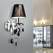 Applique Murale Moderne à LED Lampe en Cristal