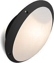 Applique murale noir IP65 orientable - Remi